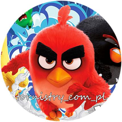 MAŁY Tornister przedszkolny ANGRY BIRDS (TEMAAB13)