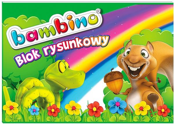 Zestaw szkolny WYPRAWKA szkolna 31 cz. BAMBINO