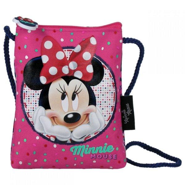 Saszetka na sznurku Myszka Minnie, licencja Disney (SSMM16)