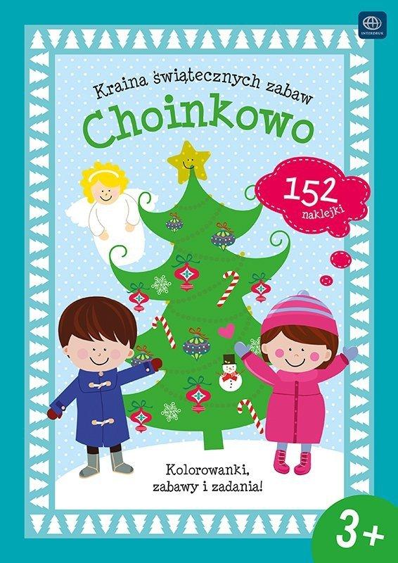 Kolorowanka Kraina świątecznych zabaw CHOINKOWO (35480)
