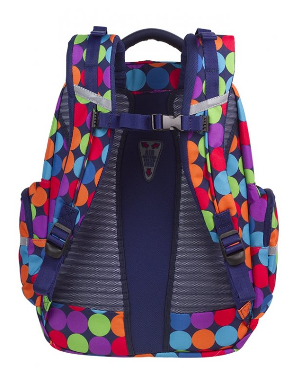 Plecak CoolPack BRICK kolorowe kropki, BUBBLE SHOOTER (81525CP)