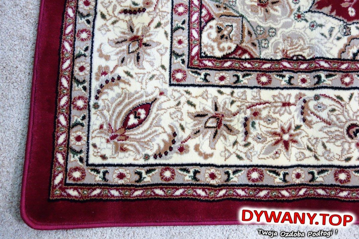 Royal Heat Set Dred Czerwony 200x290 Tradycyjne Dywanytop