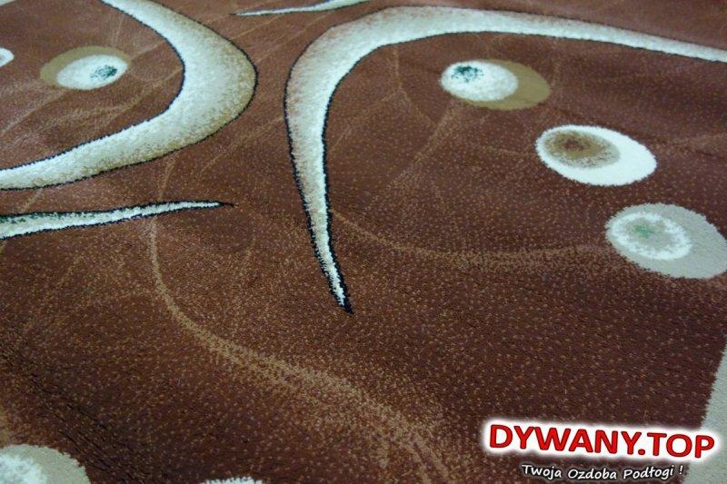 ADORA BROWN brązowa owal