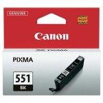 Canon oryginalny ink CLI551BK, black, 7ml, 6508B001, Canon PIXMA iP7250, MG5450, MG6350, MG7550