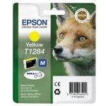 Epson oryginalny ink C13T12844011, T1284, yellow, 3,5ml, Epson Stylus S22, SX125, 420W, 425W, Stylus Office BX305