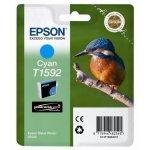 Epson oryginalny ink C13T15924010, cyan, 17ml, Epson Stylus Photo R2000