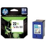HP oryginalny ink C9352CE, HP 22XL, color, blistr, 415s, 11ml, HP PSC-1410, DeskJet F380, D2300, OJ-4300, 5600
