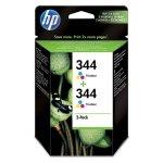 HP oryginalny ink C9505EE, HP 344, color, 900 (2x450)s, 2x14ml, HP 2-Pack, C9363AE, Photosmart 325, DeskJet 5740