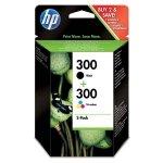 HP oryginalny ink CN637EE, HP 300, black/color, blistr, 2 x 200s, 2x4ml, HP 2-pack, CC640EE a CC643EE, DeskJet D2560, F4280