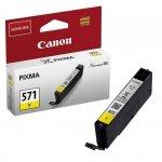 Oryginalny, kompatybilny Tusz  Canon  CLI-571Y do Pixma  MG-5750/6850/7750  | 7ml | yellow