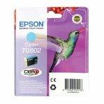 Oryginalny, kompatybilny Tusz  Epson  T0802  do Stylus Photo  R-265/285/360 RX560  | 7,4ml | cyan
