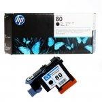 Głowica + gniazdo czyszczące HP 80 do Designjet 1050/1055 | black