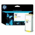 Tusz HP 72 Vivera do Designjet T610/1100/1200/1300 | 130ml | yellow