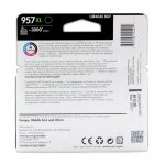 Oryginalny, kompatybilny Tusz HP 957XL do OfficeJet Pro 8210/8720/8725/8725 | 3 000 str. | black