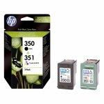 Oryginalny, kompatybilny Zestaw dwóch tuszy HP 350 i 351 do Deskjet D4260/4360, Officejet J5780 | CMY/K