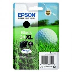 Epson oryginalny ink C13T34714010, T347140, black, 16.3ml, Epson WF-3720DWF, 3725DWF