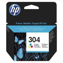 HP oryginalny ink N9K05AE#301, HP 304, Tri-color, blistr, 100s, HP HP DeskJet 3720, HP DeskJet3730