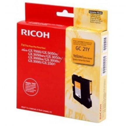 Oryginalny, kompatybilny Tusz Ricoh do GX2500/3000/3050/5050/7000   1 000 str.   yellow