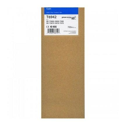 Tusz Epson UltraChromeXD do SC-T3000/T5000/T7000  | 700 ml | cyan