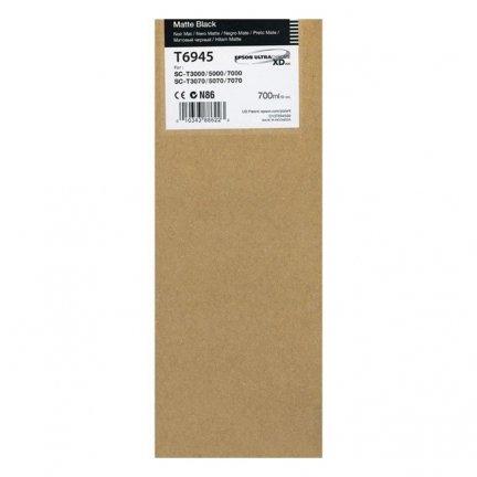 Tusz Epson UltraChromeXDTdo SC-T3000/T5000/T7000  | 700 ml | matte black
