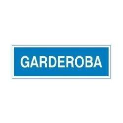 Znak GARDEROBA 801-93 P.Z.