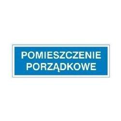 Znak POMIESZCZENIE PORZĄDKOWE 801-91 F.Z.