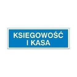 Znak KSIĘGOWOŚĆ I KASA  801-78 P.Z.