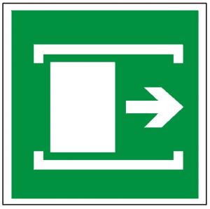 Znak przesunąć w celu otwarcia 116 (F.F.)