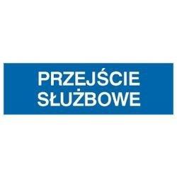 Znak PRZEJŚCIE SŁUŻBOWE 801-12 F.Z.