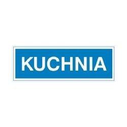 Znak KUCHNIA  801-14 F.Z.