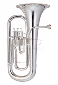 JOHN PACKER Eufonium Bb JP074S Silverplated, posrebrzane, z futerałem