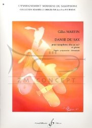 Martin Gilles: Danse du sax na saksofon altowy i fortepian