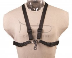 NEOTECH szelki do saksofonu, fagotu Simplicity Harness, Jr./Regular, Plastic-Covered Metal Hook