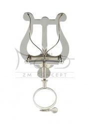 aS Pulpit, Lirka marszowa, pulcik do klarnetu z pierścieniem na obręcz środkową, duży, 01587231