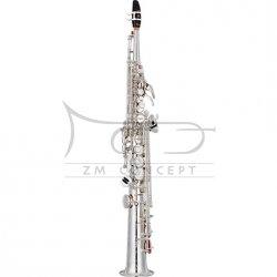 YAMAHA saksofon sopranowy Bb YSS-82ZS posrebrzany, prosty, z futerałem