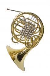 PAXMAN waltornia F/B model Diploma full double horn, lakierowana, z futerałem