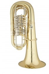 ANDREAS EASTMAN tuba F EBF866, PROFESSIONAL, 4/4, 4 wentyle obrotowe, lakierowana, z futerałem