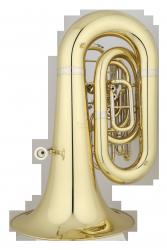 ANDREAS EASTMAN tuba C EBC632, PROFESSIONAL, 4 wentyle tłokowe, lakierowana, z futerałem