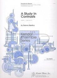 Nestico Sammy: A study in Contrast na kwartet saksofonowy