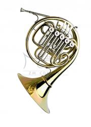 PAXMAN waltornia F/Bb model 33, double horn, kompensacyjna, nieroz. czara, lakierowana, z futerałem