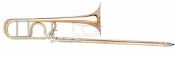 B&S puzon tenorowy Bb/F Meistersinger MS14-1-0 lakierowany, z futerałem