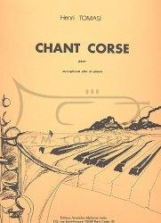 Tomasi, Henri: Chant corse na saksofon altowy i fortepian