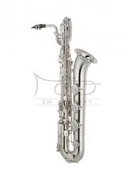 YAMAHA saksofon barytonowy Eb YBS-480S posrebrzany, z futerałem