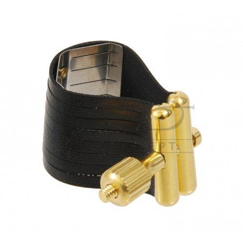 ROVNER ligatura Dark Series 2M do saksofonu tenorowego SLIM/ALTO LG. metal style