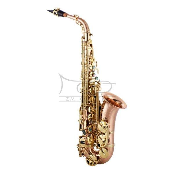 JOHN PACKER saksofon altowy Es JP045R Rose brass, lakierowany, z futerałem