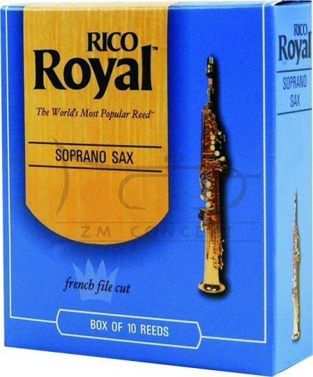 RICO ROYAL stroiki do saksofonu sopranowego - 2,0 (10)