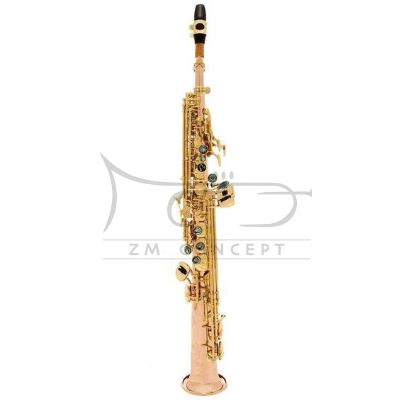 JOHN PACKER saksofon sopranowy JP043R Rose brass, lakierowany, z futerałem