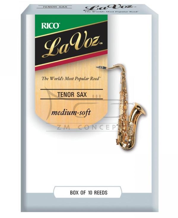 RICO LA VOZ stroiki do saksofonu barytonowego#3,0 (10) MEDIUM HARD