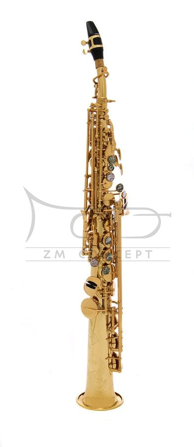JOHN PACKER saksofon sopranowy JP043G Gold Lacquer, złoty lakier, z futerałem