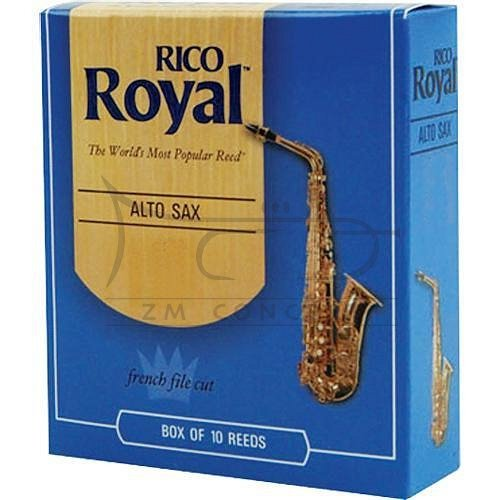 RICO ROYAL stroiki do saksofonu altowego - 2,5 (10)